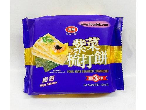 四洲梳打餅(紫菜)(100g)
