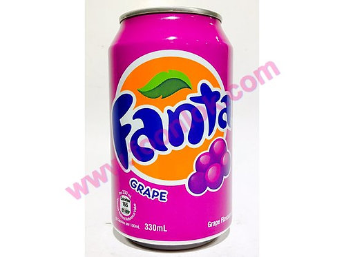 罐裝芬達提子汁(330mlx24罐)