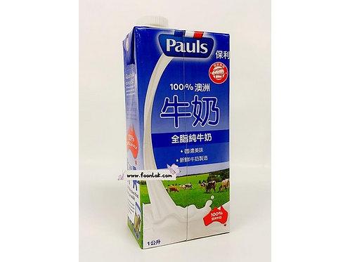 0Pauls 全脂純牛奶 (1LT)