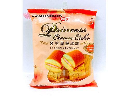 四洲公主忌廉蛋糕(香桃)(90g)