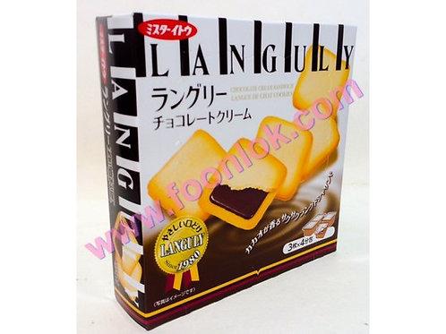 伊度夾心餅(朱古力)(1排x6盒)