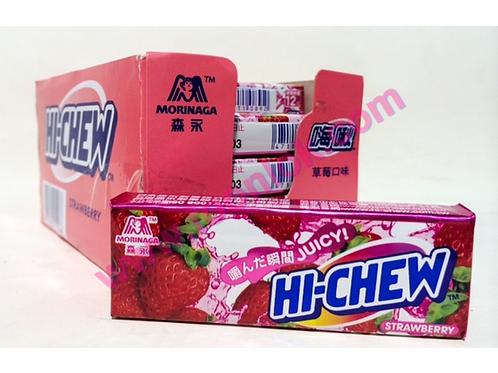 33g森永軟糖(草莓)  (1盒x20條)
