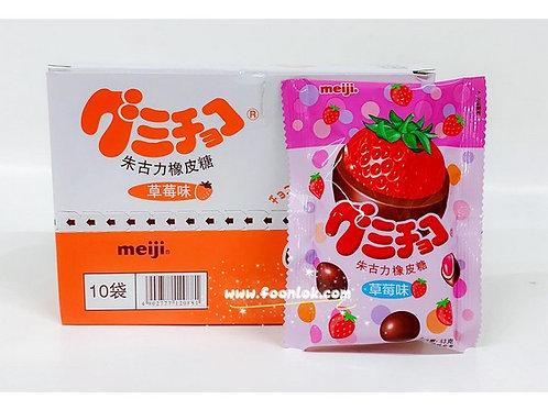 包裝明治朱古力橡皮糖(草莓) (53gx10包)