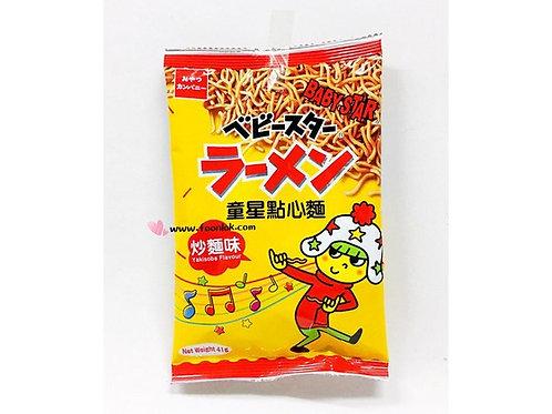 日式童星點心麵(炒麵味)(1箱x24包)