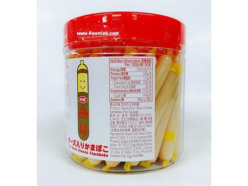 罐裝四洲魚肉腸(芝士)1罐x50條