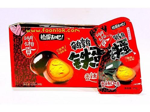 湖湘貢鵪鶉鹵蛋(香辣)1盒x30包