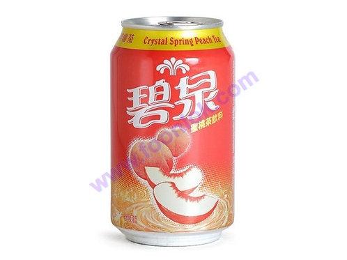 罐裝碧泉蜜桃茶(345mlx24罐)