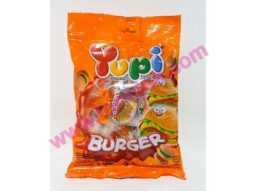 Yupi迷你小漢堡橡皮糖  (96g)