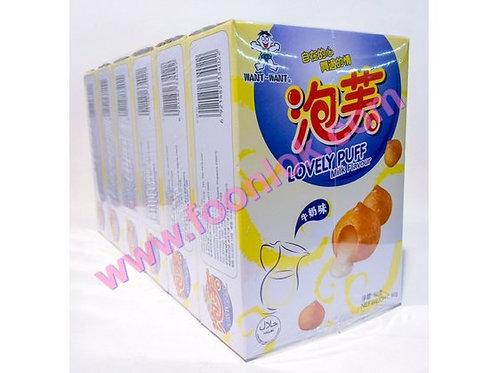 盒裝旺旺泡芙(牛奶)1份x6盒