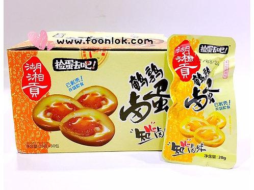 湖湘貢鵪鶉鹵蛋(1盒x30隻)