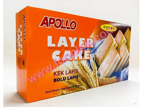 亞波羅蛋糕(原味)1盒x8包