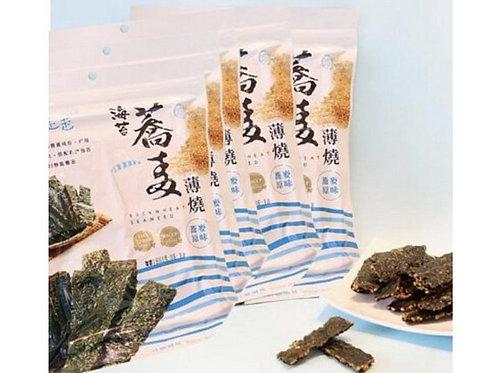 台灣*海邊走走*海苔黃金蕎麥薄燒 (40g )