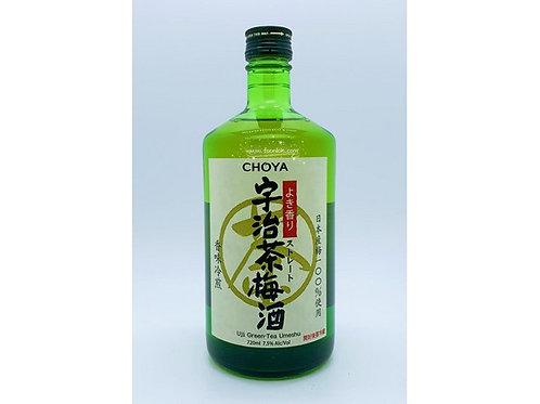 CHOYA蝶矢宇治茶梅酒(720ml)