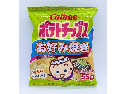 55g卡樂B薯片(日燒醬汁) (1箱x24包)