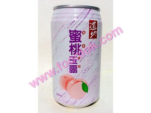 罐裝道地蜜桃玉露(340mlx24罐)