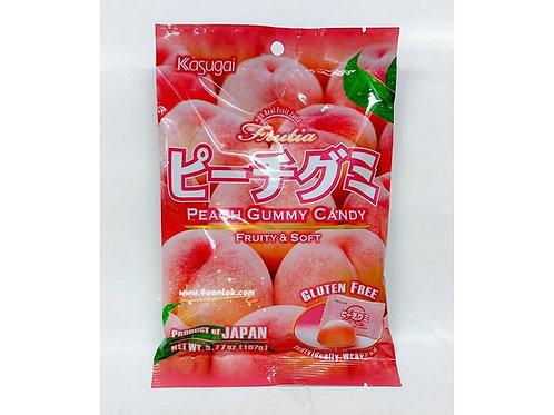 春日井橡皮糖(香桃)  (107g)