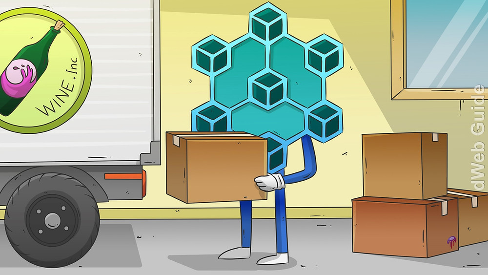 Blockchain Technology is used for Supply Chain Tracking.