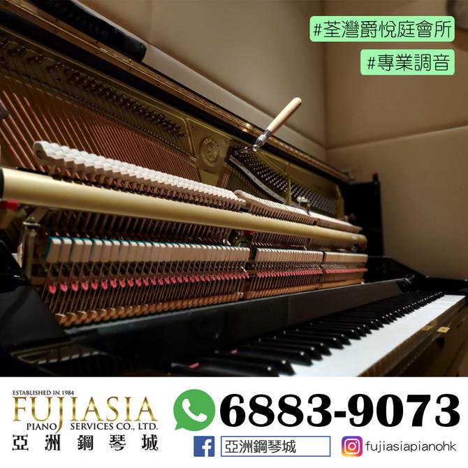 【專業鋼琴調音服務✨會所篇】
