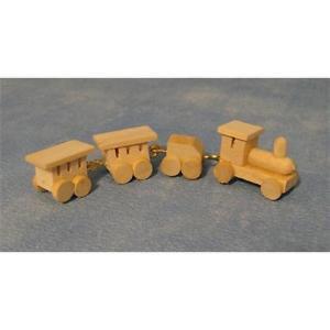 Comboio em madeira