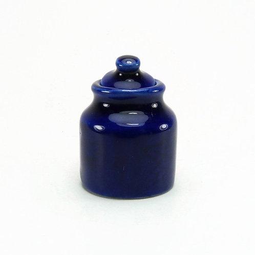 Frasco grande azul
