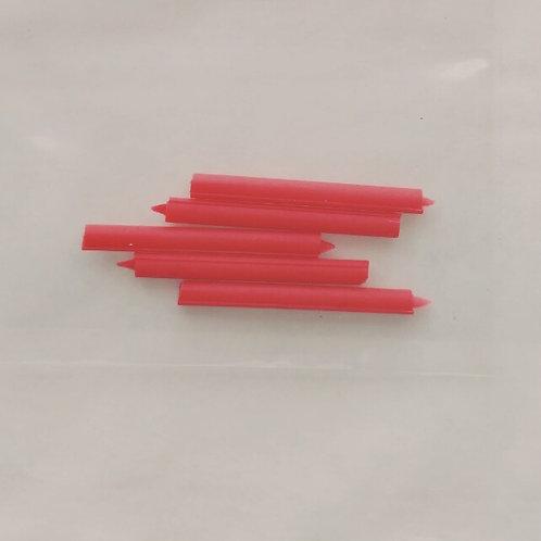 Velas vermelhas
