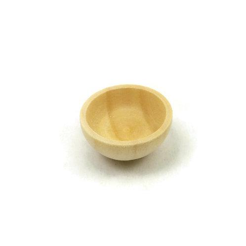 Taça de madeira pequena