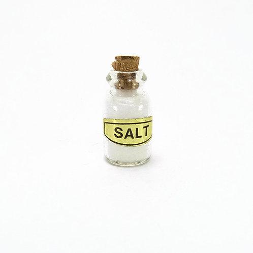Frasco com sal