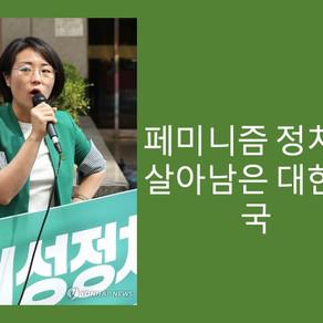 페미니즘 정치만 살아남은 대한민국