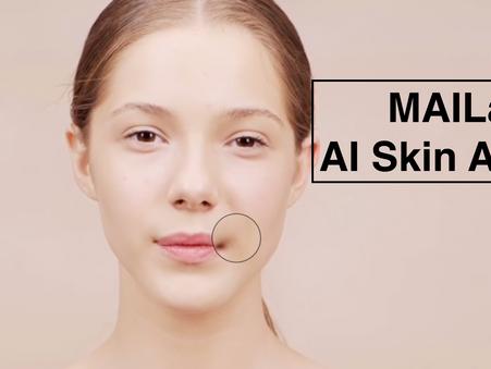 MAILab의 AI 피부 분석