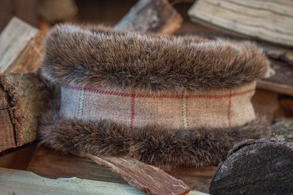 Rye Tweed Head Warmer