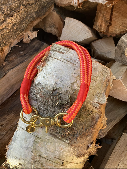 Fire Cracker Rope Collar 14""