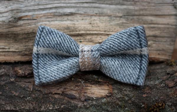 Tawny Tweed Bow Tie