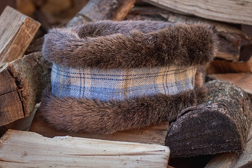 Flax Tweed Head Warmer