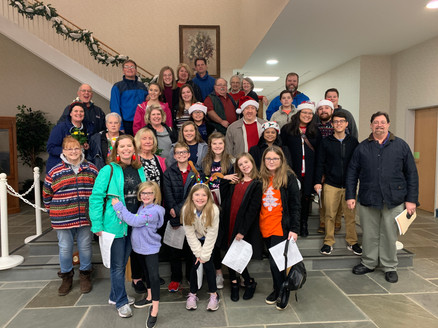 Church-Wide Christmas Caroling