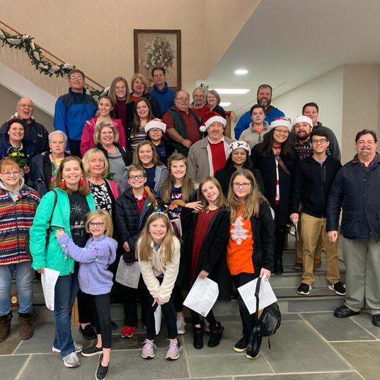 Church-Wide Christmas Caroling