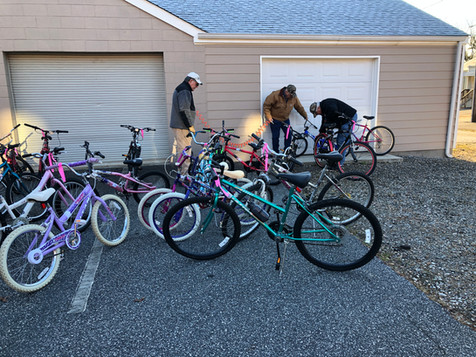 Bicycle Ministry Getting Ready to Deliver