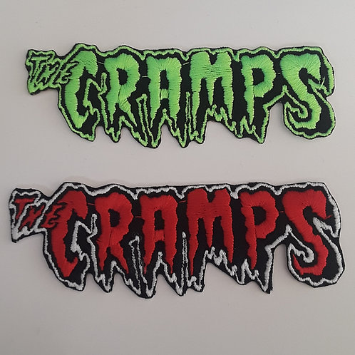 The Cramps Embroidered Badge