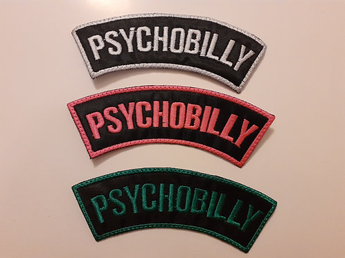 Psychobilly Badge