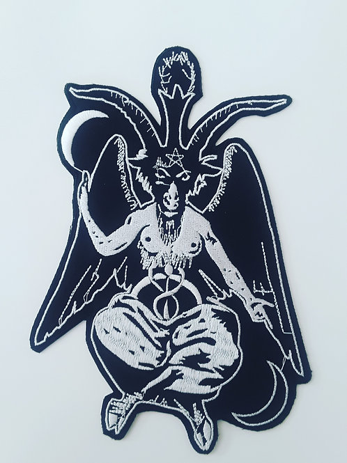 Baphomet Embroidered Back patch