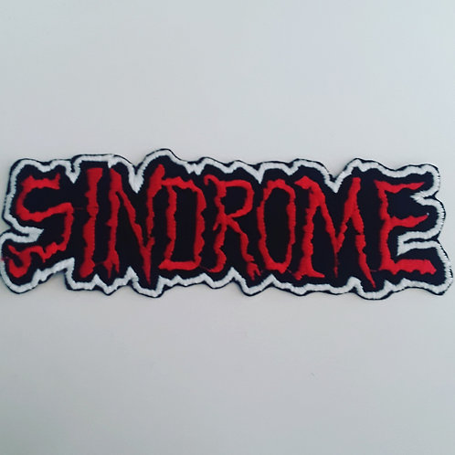 Sindrome Embroidered Badge