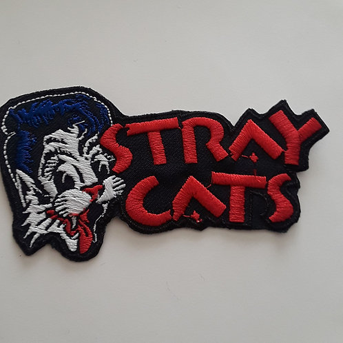 Stray cats 2x3in Embroided patch