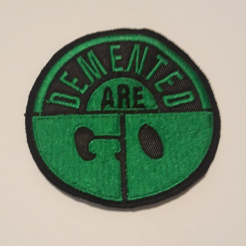 Demented Are Go Badge