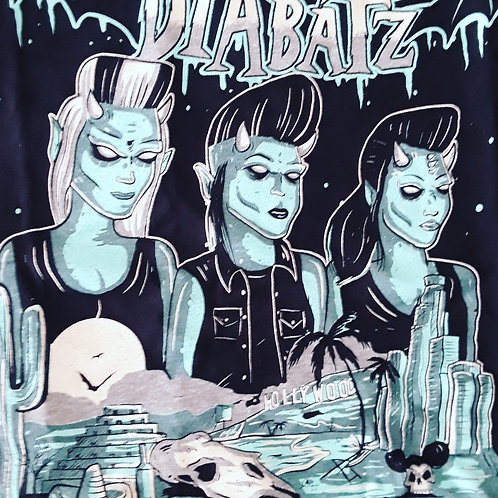 As Diabatz tour shirt