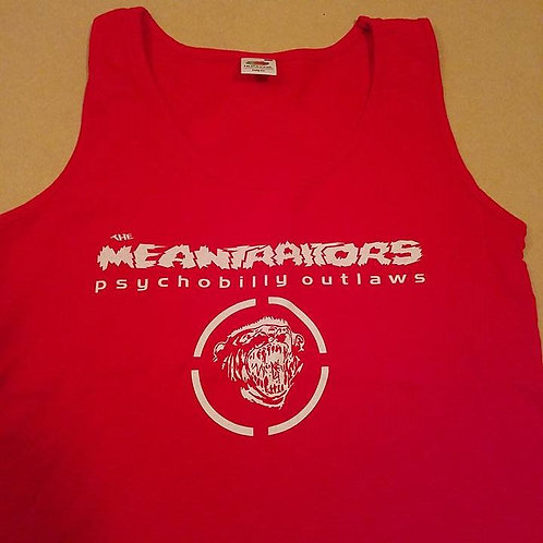 Meantraitors Girls Tank Top Red