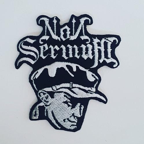 Non Servium Embroidered Badge