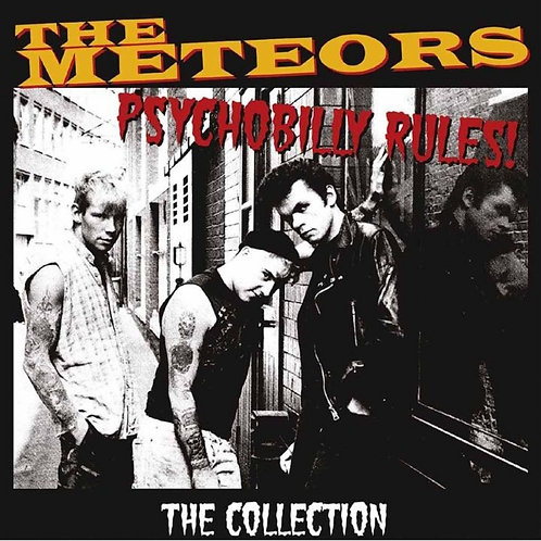 The Meteors Psychobilly Rules 2LP