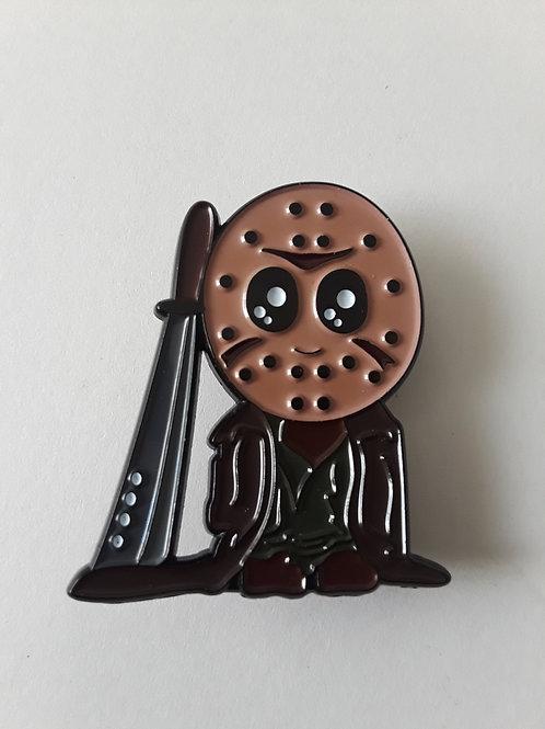 Jason 1in Enamel pin