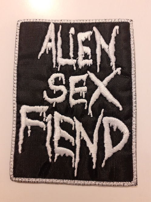 Alien Sex Fiend Badge