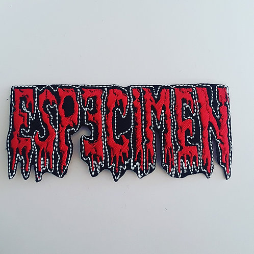 Especimen Embroidered Badge