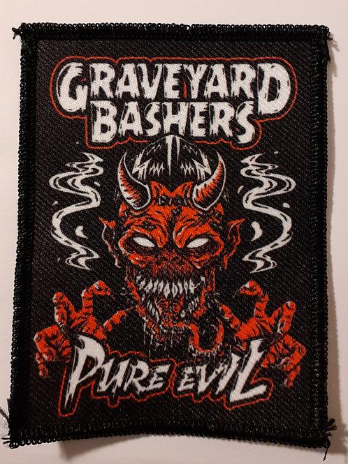 Graveyard Bashers Pure Evil Badge